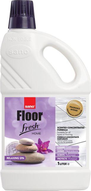 Sano Floor Fresh Home Relaxing Spa Manual 1l Sticla Detergent Pardoseala sanito.ro