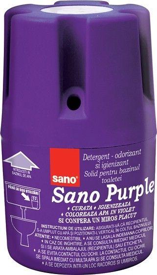 Sano Purple Odorizant Bazin Wc 150g sanito.ro