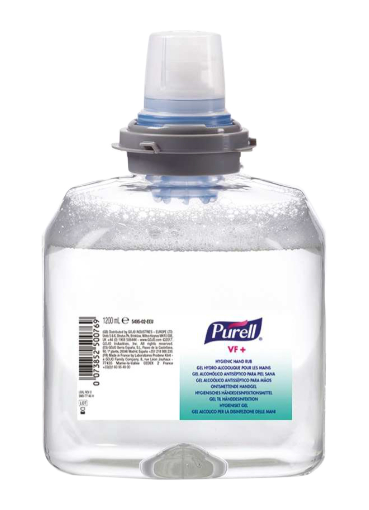 Aviz Biocid Medical - Gel Dezinfectant Tfx Purell Vf+ 1200ml sanito.ro