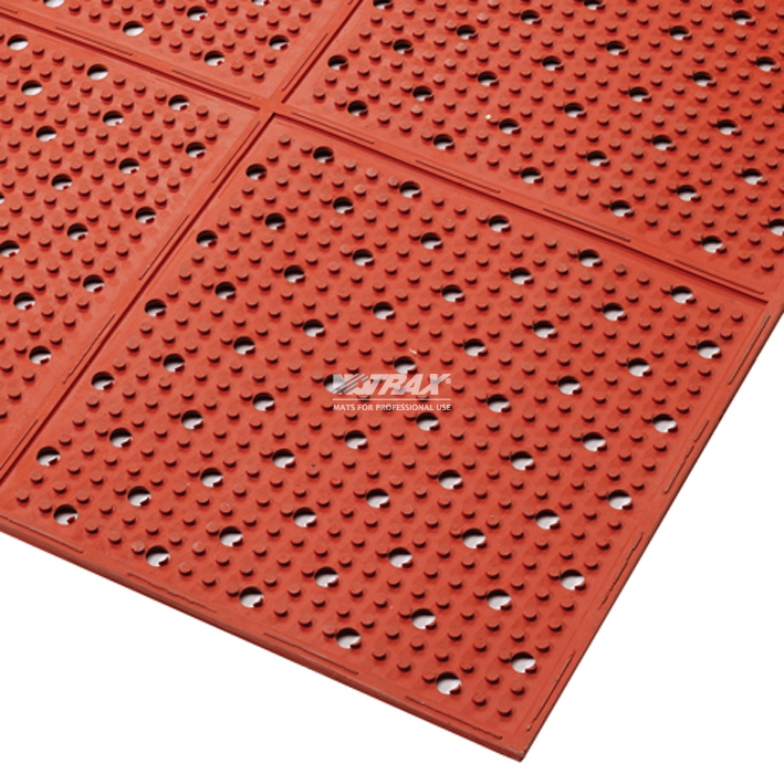 Covor Anti-Alunecare Multi Mat Ii Red sanito.ro