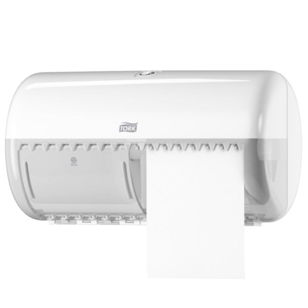 Dispenser Hartie Igienica 2 Role Tork Alb 2021 sanito.ro