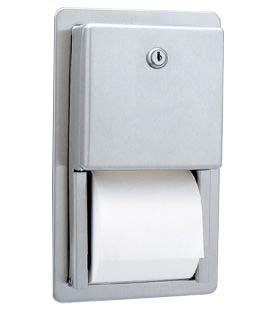Dispenser Incastrat In Perete Pentru Hartie Igienica Cu 2 Role Normale Bobrick 2021 sanito.ro
