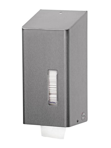 Dispenser Hartie Igienica Pliata Seria Santral Anti Finger Print Bobrick 2021 sanito.ro