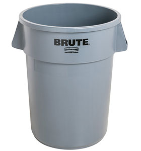 Container Rotund Brute 37.9 L Gri Rubbermaid sanito.ro