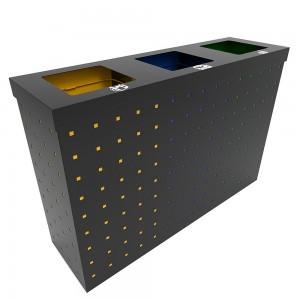 Oslo Sm Set Combo De Reciclare Din Metal Cu Design Modern sanito.ro