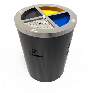 Geneve Am Cosuri Reciclare Cu Design Modern Din Metal Cu Compartiment Pentru Tigari sanito.ro