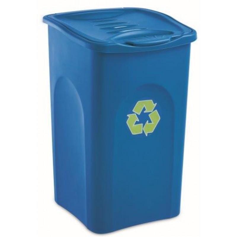 Tomberoane Pentru Reciclare Deseuri 50l Culori: Albastru Galben Verde sanito.ro