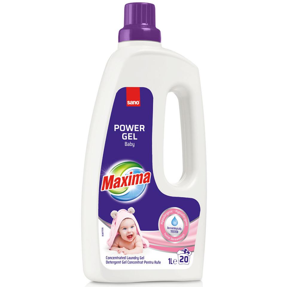 Detergent De Rufe Sano Maxima Power Gel Baby (20sp) 1l sanito.ro