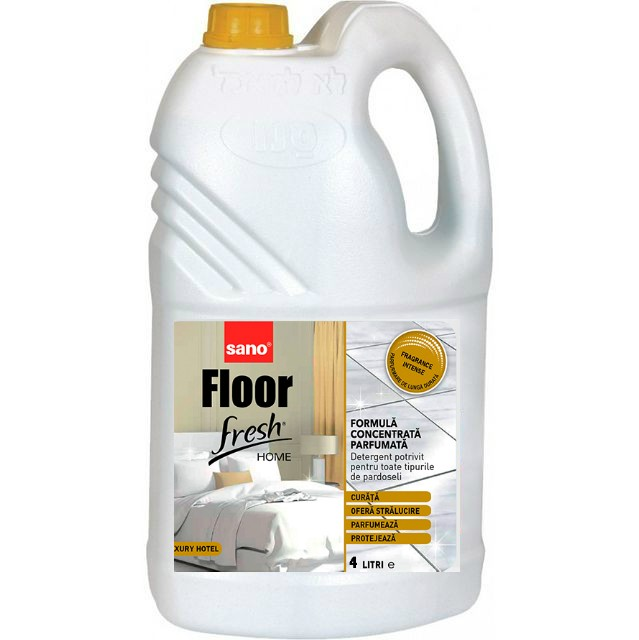 Detergent Pardoseli Concentrat Sano Floor Fresh Home Luxury Hotel 4l sanito.ro