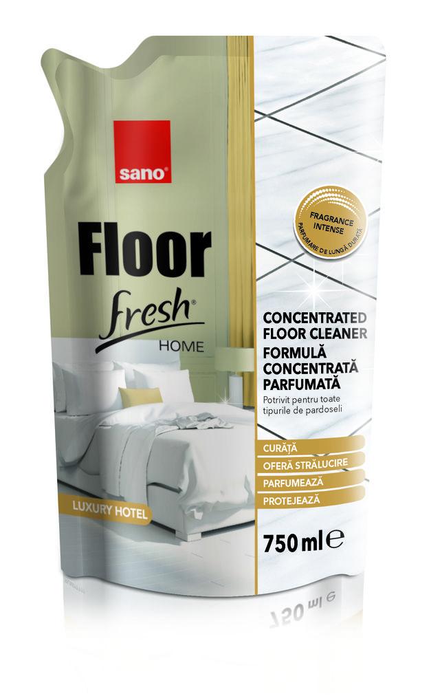 Detergent Pardoseli Sano Floor Fresh Home Luxury Hotel 750 Ml- Rezerva 2021 sanito.ro