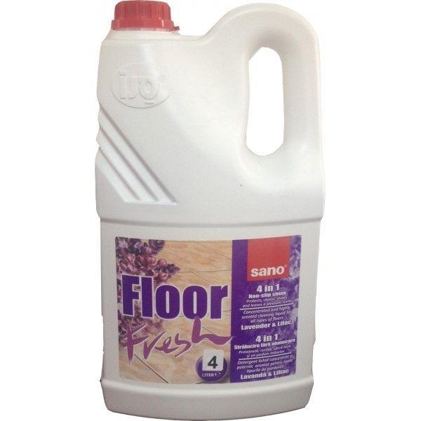 Detergent Pardoseli Sano Floor Fresh Liliac 4l sanito.ro