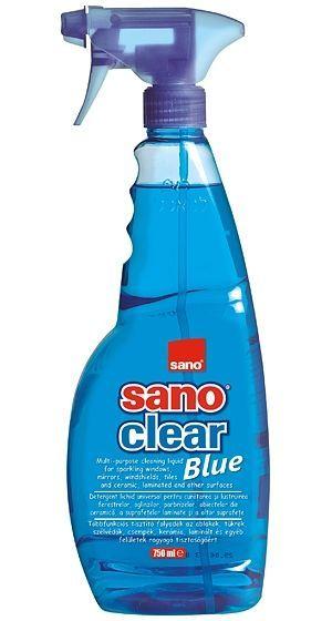 Detergenti Geamuri Sano Clear Blue Trigger 750 Ml 2021 sanito.ro