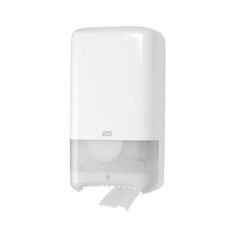Dispenser Hartie Igienica 2 Role Alb Tork T6 sanito.ro