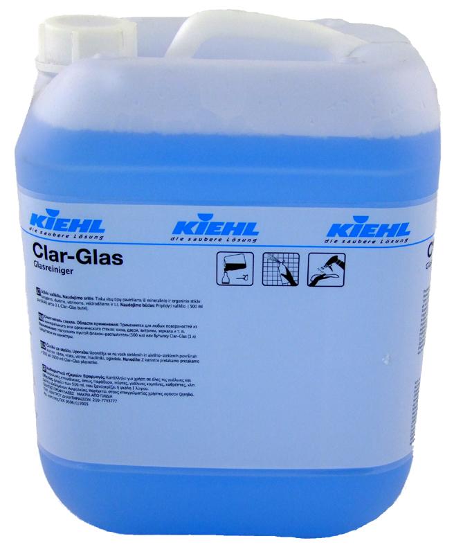 Clar Glass 10l - Detergent Pentru Sticla Kiehl 2021 sanito.ro