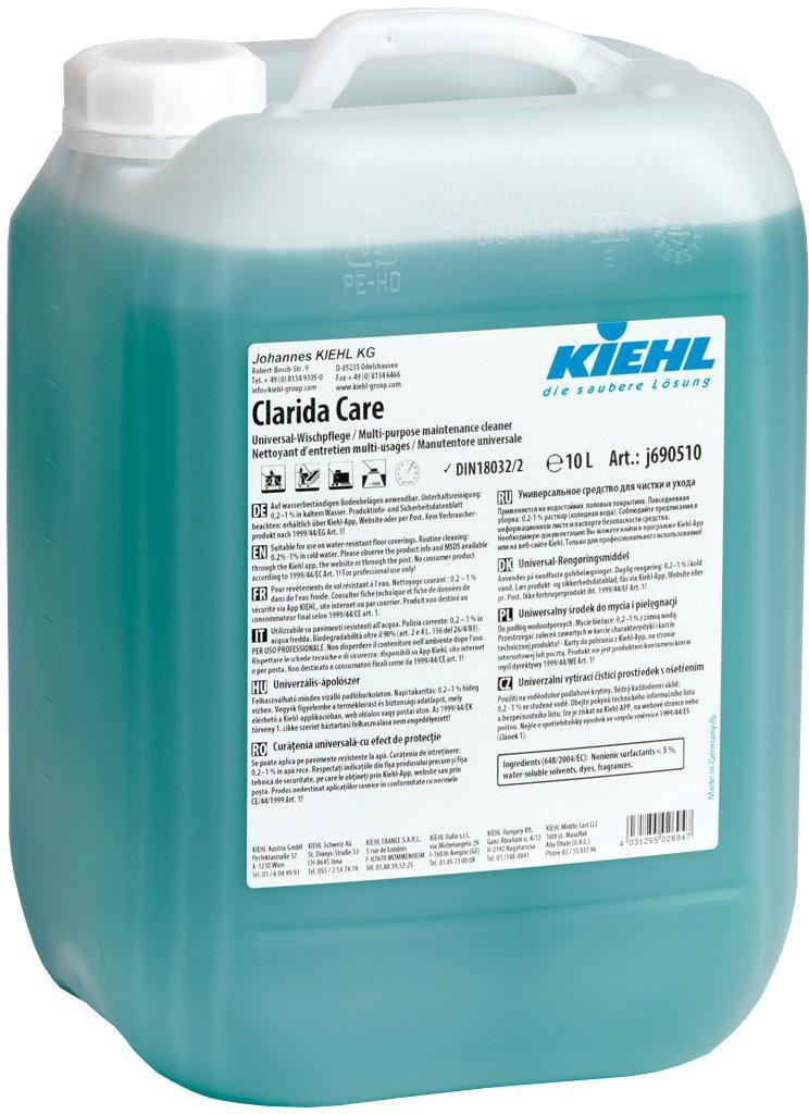 Clarida Care Manual-Detergent De Intretinere Cu Substante De Protectie 10l Kiehl 2021 sanito.ro