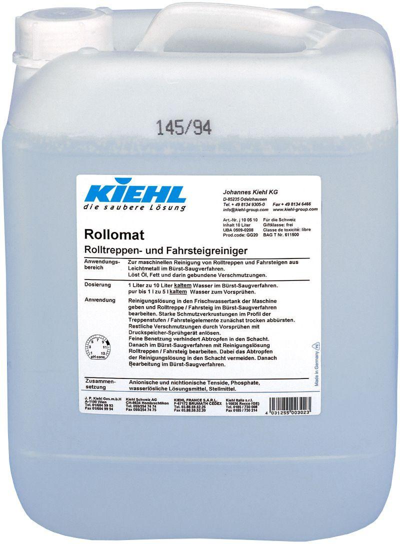 Rollomat-Detergent Pentru Scari Rulante J100510 Kiehl 10l sanito.ro
