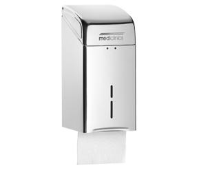 Dispenser Hartie Igienica Pliata Inox Finisaj Satinat Mediclinics sanito.ro