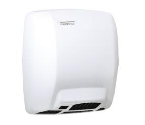 Uscator de maini MEDIFLOW alb actionare cu senzor Medclinics imagine sanito.ro