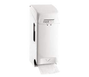 Dispenser Hartie Igienica 2 Role Normale Suprapuse Otel Mediclinics sanito.ro