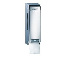 Dispenser Hartie Igienica Pentru 2 Role Normale Suprapuse Inox Finisaj Satinat Mediclinics sanito.ro