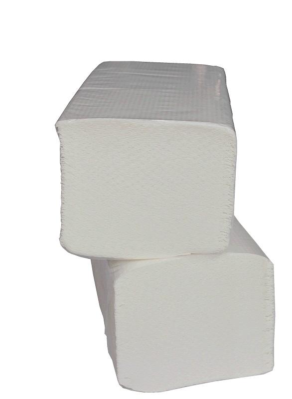 Prosoape Hartie Pliate V Fold 160 Buc / Pachet 2 Straturi 25 X 23 Albe Celuloza 100% Cm 20 Pac / Bax Aqa Choice 2021 sanito.ro