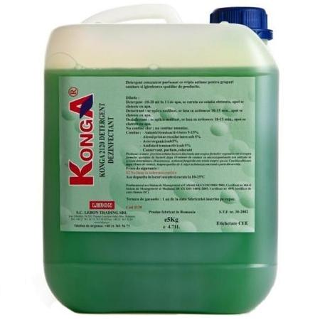Aviz Biocid - Detergent Hard 5 Litri Konga sanito.ro