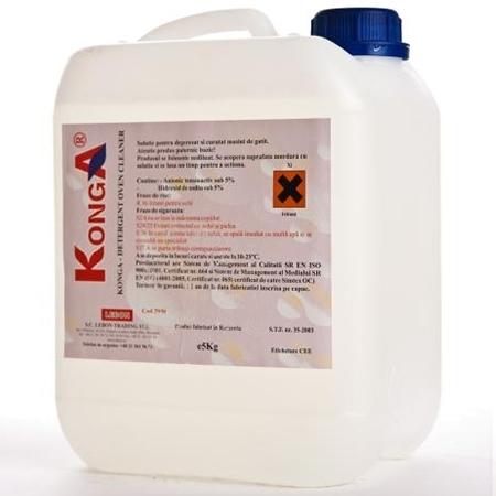 Detergent Degresant Alcalin Cuptor Si Plita 5 L Konga sanito.ro