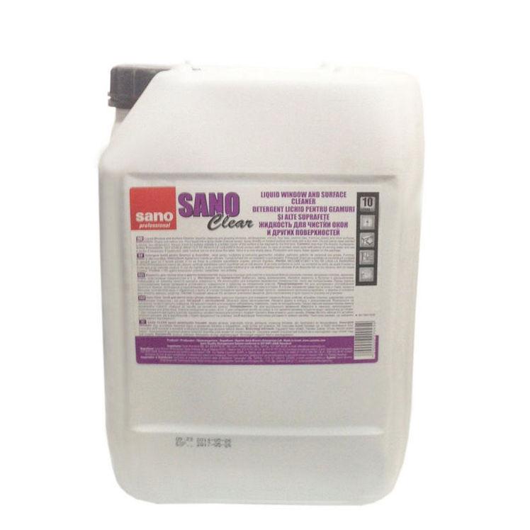 Sano Clear 10l Detergent Geam 2021 sanito.ro