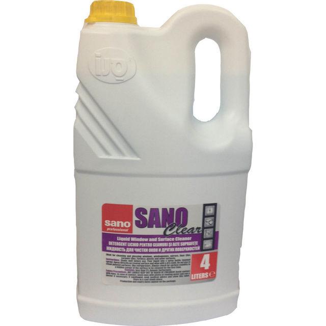 Sano Clear 4l Detergent Geam 2021 sanito.ro