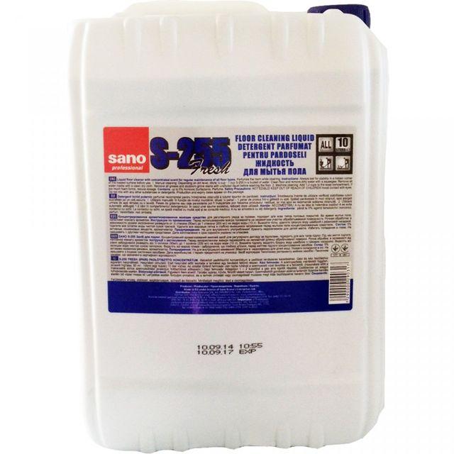 Sano Floor Cleaner Manual 10l Detergent Pardoseala sanito.ro