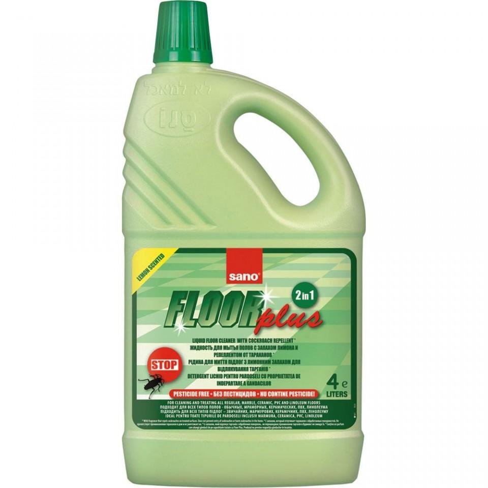 Sano Floor Plus Manual 4l Detergent Pardoseala sanito.ro