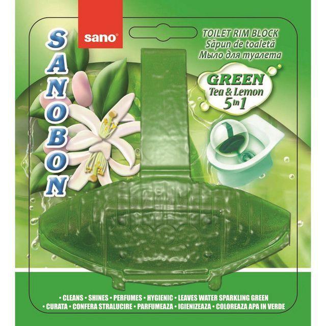 Sano Bon Green Forest 5in1 55g Odorizant Vas Toaleta sanito.ro