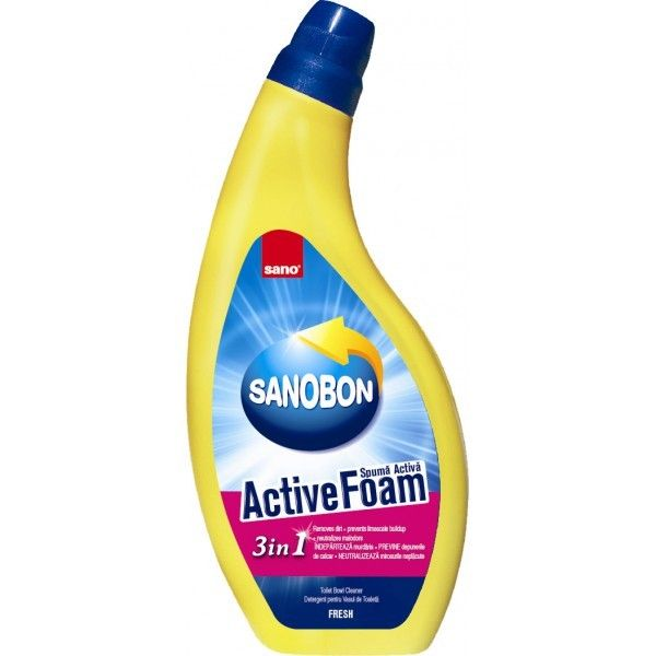 Sano Bon Spuma Activa Wc Fresh 750ml sanito.ro