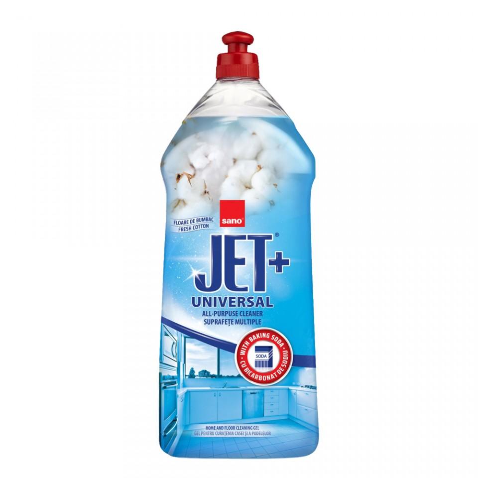 Solutie De Curatenie Universala Cu Bicarbonat De Sodiu Sano Jet Gel 1.5l sanito.ro