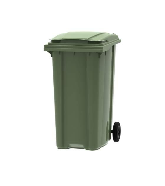 Container Din Plastic 360 Litri Verde 2021 sanito.ro