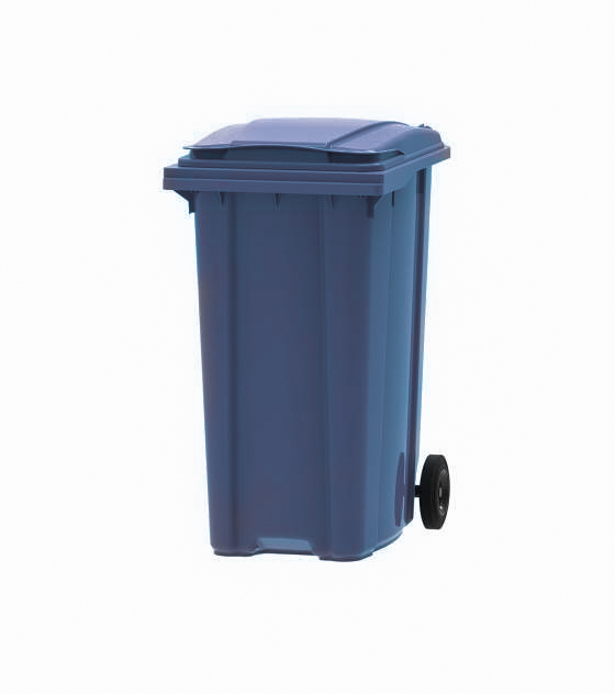 Container din plastic 360 litri albastru