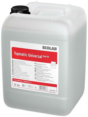 Detergent Lichid Pentru Masinile De Spalat Vase Topmatic Universal Special 25kg Ecolab 2021 sanito.ro