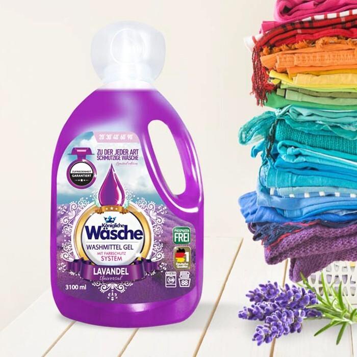 Konigliche Color Lavanda Detergent Gel 3.1 L sanito.ro