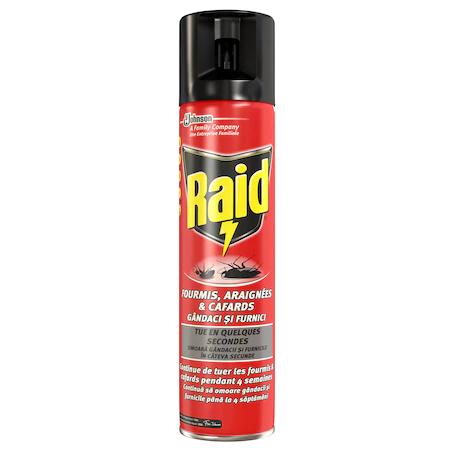Raid Spray Gandaci Si Furnici 400 Ml 2021 sanito.ro