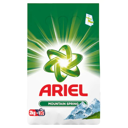 Ariel Detergent Automat Mountain Spring 2 Kg sanito.ro