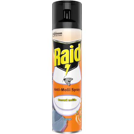 Spray Anti-Molii Raid Orange 400 Ml sanito.ro