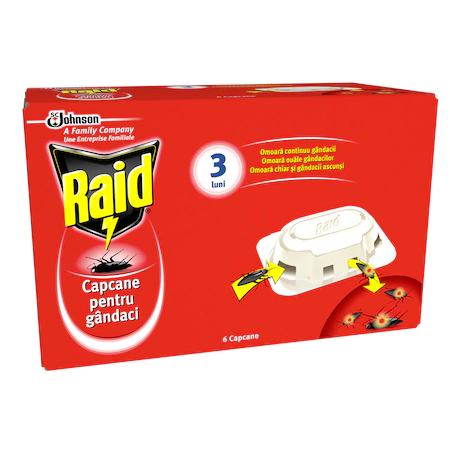 Raid Capcane Gandaci*6buc 2021 sanito.ro
