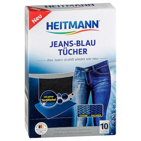 Heitmann Servetele Pentru Revigorarea Culorii Albastre 10buc sanito.ro
