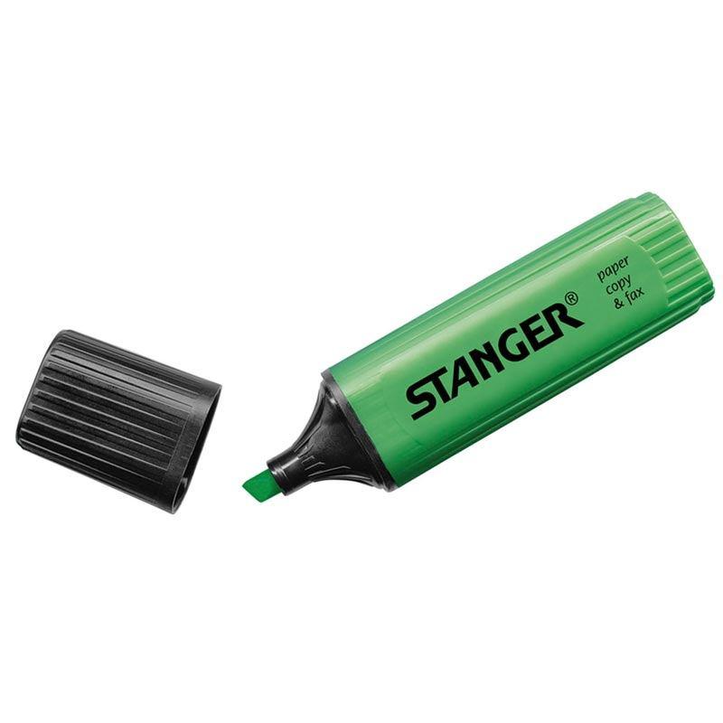 Textmarker Stanger - 1-5 Mm Verde sanito.ro