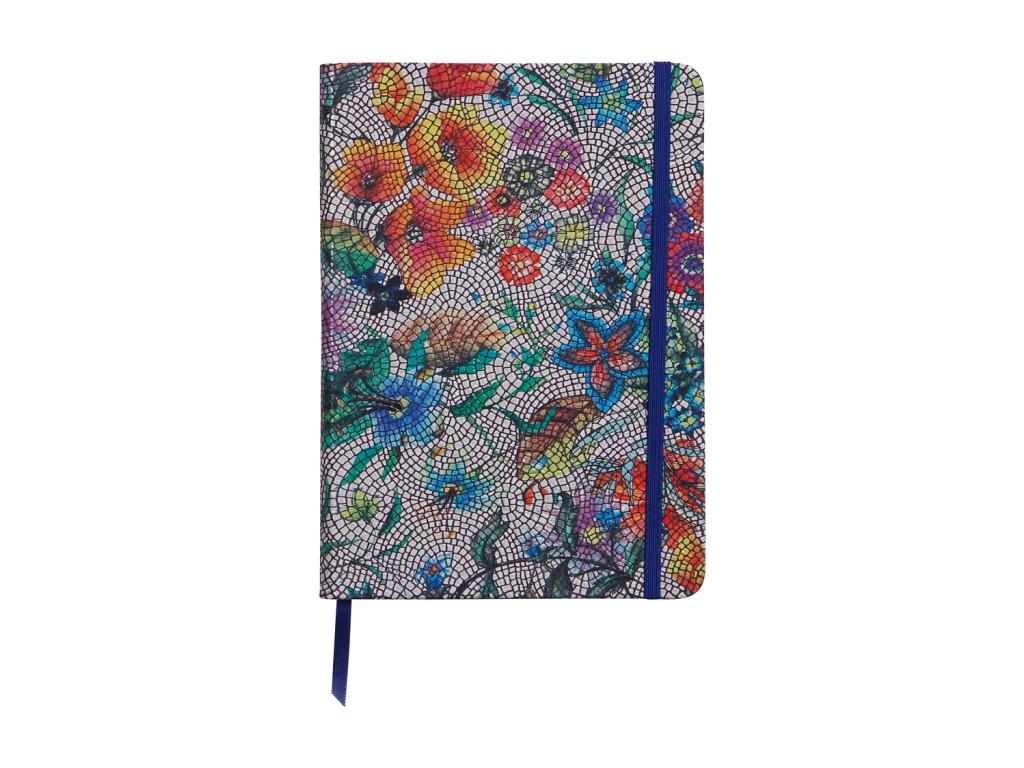 Agenda Notebook Coperta Moale Piele A5 144 Pagini Clairefontaine Celeste 2021 sanito.ro
