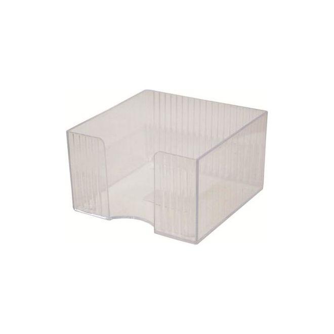 Suport Cub Hartie Din Plastic Transparent 8 5 X 8 5 X 8 5cm Tip Flaro sanito.ro