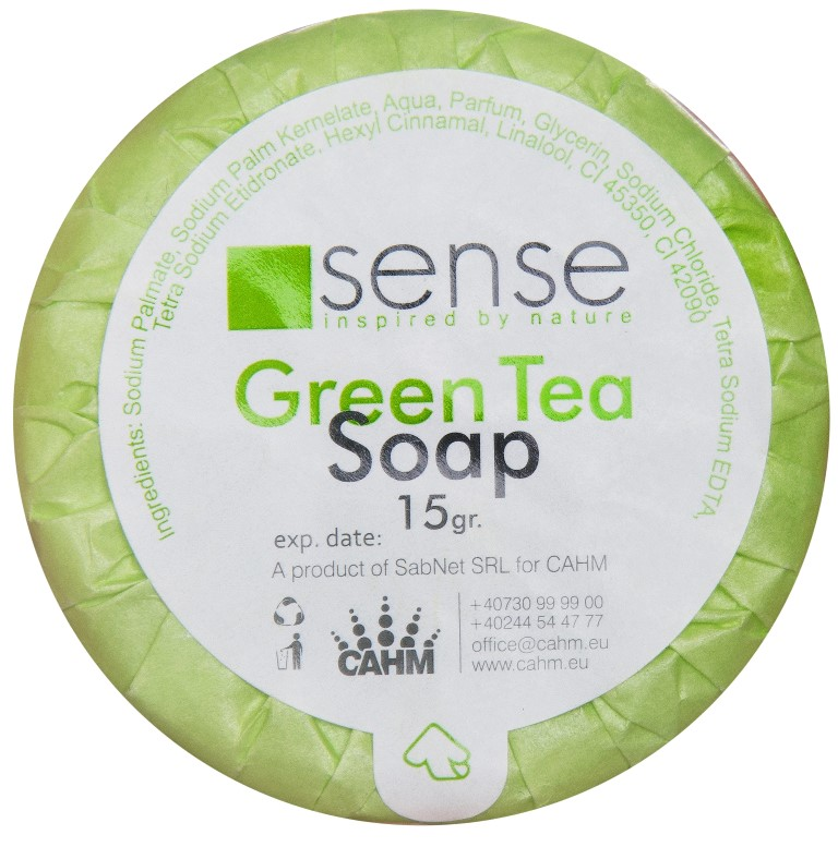 Sapun 15 Gr Green Tea - Sense sanito.ro