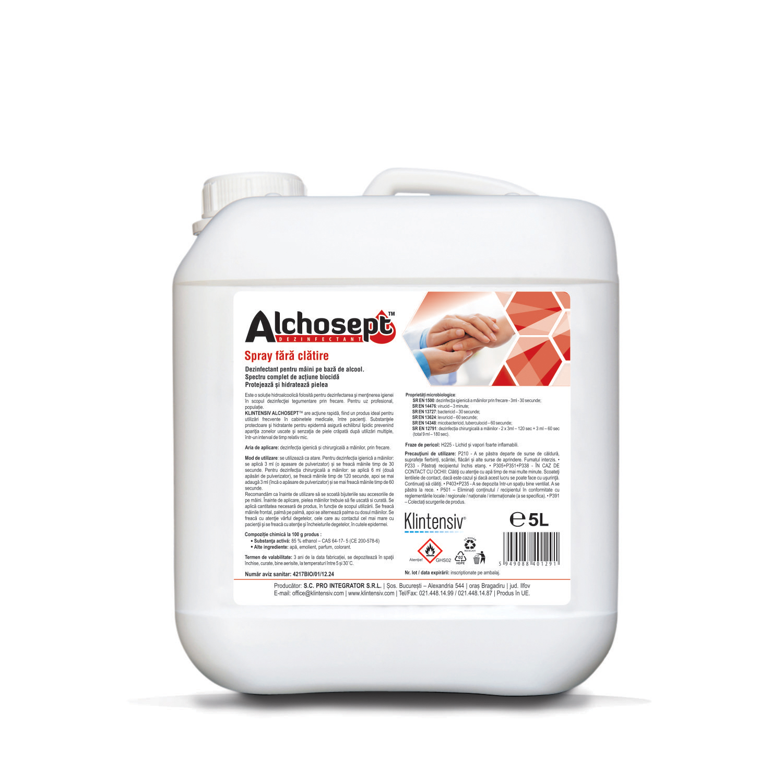 Alchosept 5 L Dezinfectant de maini si tegumente pe baza de alcool 85% imagine sanito.ro