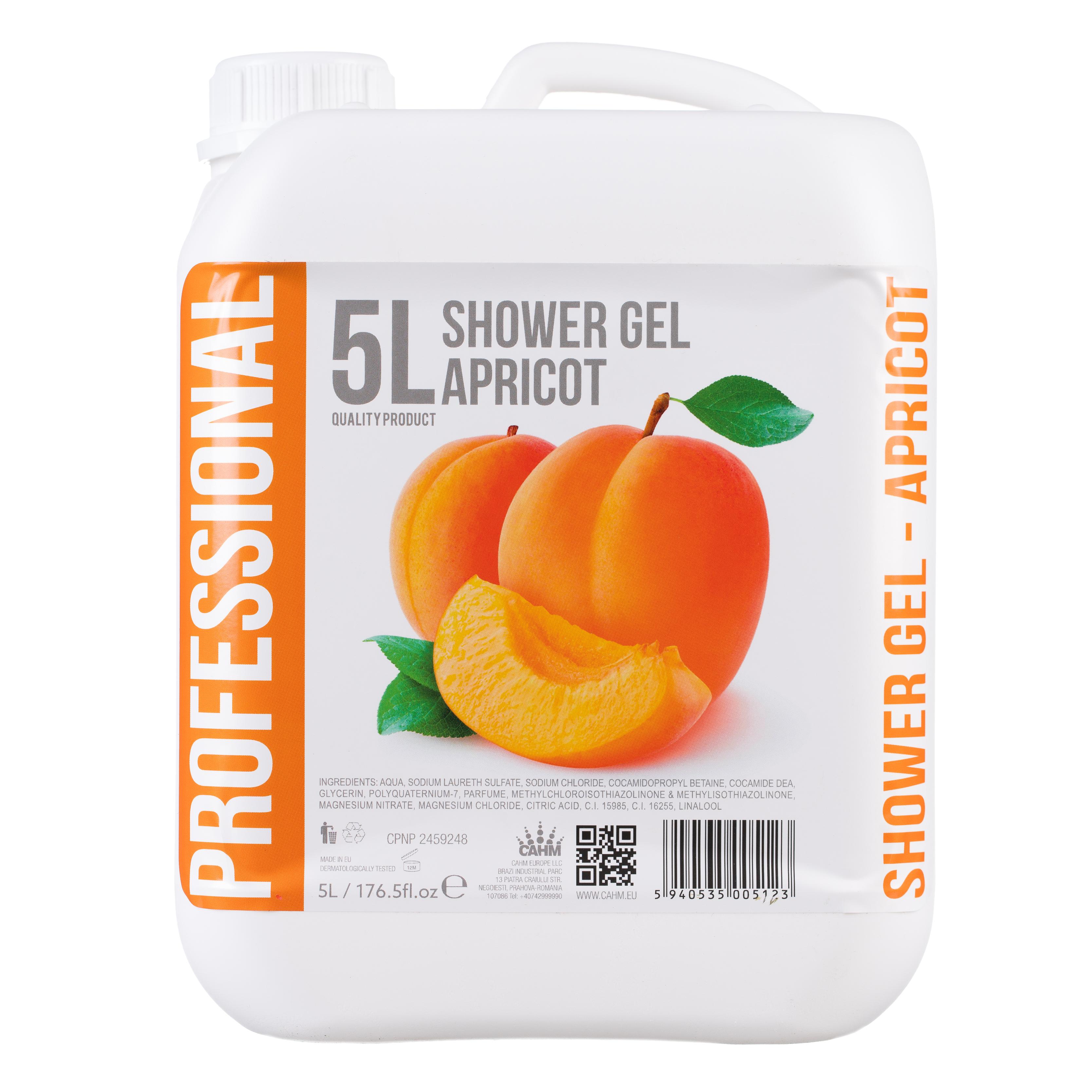 Gel De Dus 5l -Apricot sanito.ro