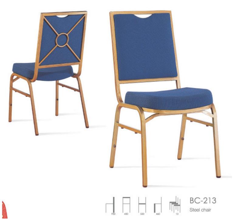Scaun Restaurant/Conferinta Albastru 2021 sanito.ro